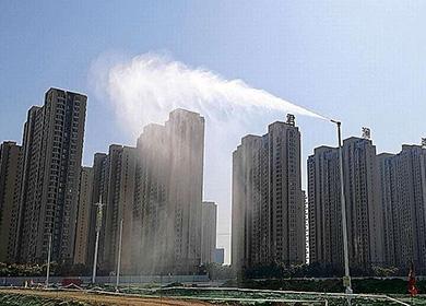 洛阳文化公园降尘案例