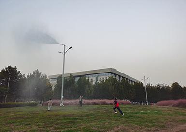 南阳市政公园景观降尘案例
