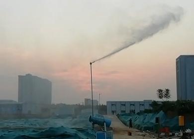 洛阳高压细水雾抑尘案例
