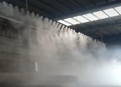 区域降尘雾景案例