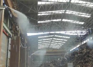 工业厂房降尘案例